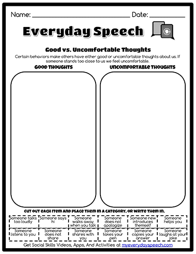 Printables Worksheet Creator speech therapy worksheet creator everyday speech