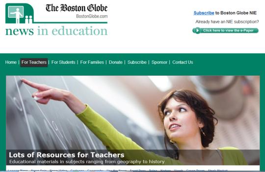 Boston Globe NIE