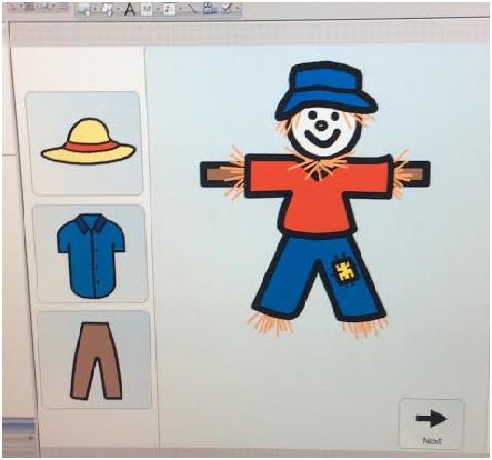 Boardmaker Scarecrow