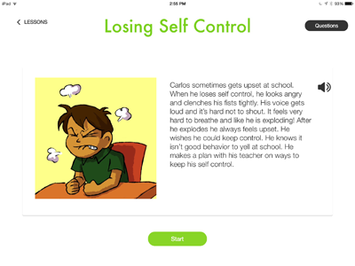 Let's Be Social app for social skills