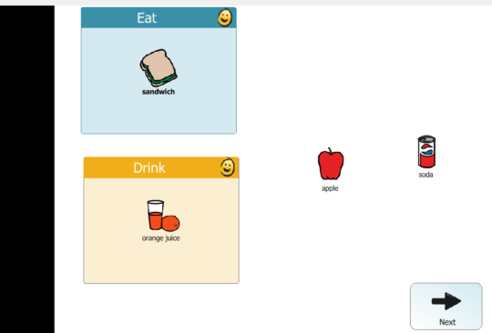 I created this sorting activity using the Sorting gadget