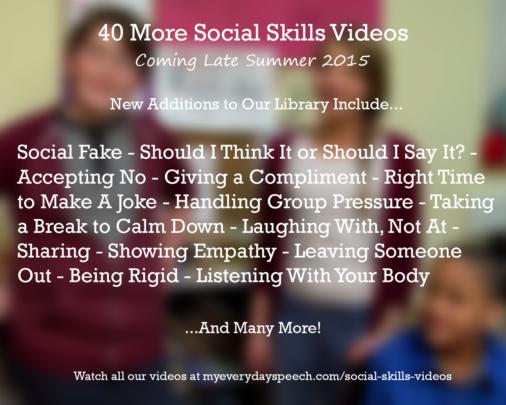 Social Skills Videos Round 2