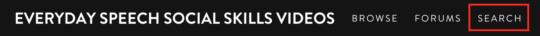 VHX Search Button
