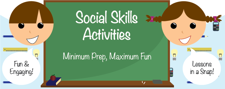math worksheet : social skills activities minimum prep maximum fun!  everyday speech : Social Skills For Kindergarteners Worksheets