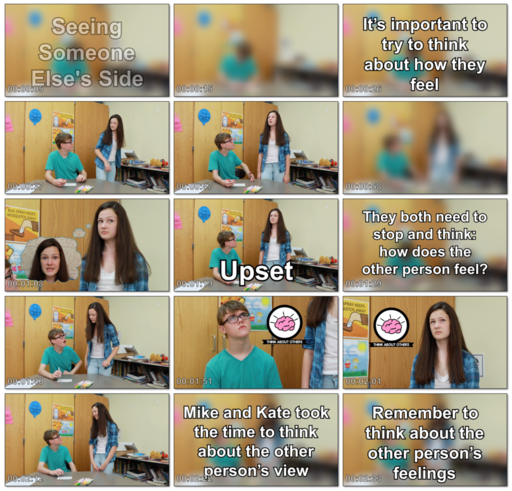 Social Skills Video: Seeing Someone Else's Side - Older