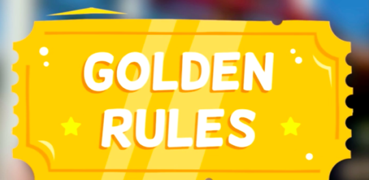 Learn the golden rules of playing with others