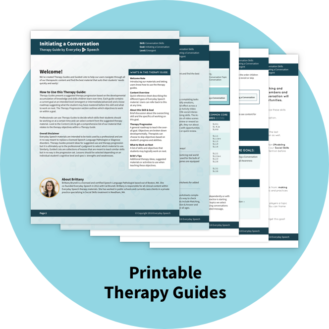 photograph about Printable Guides known as Printable Cure Publications Each day Speech - Each day Speech