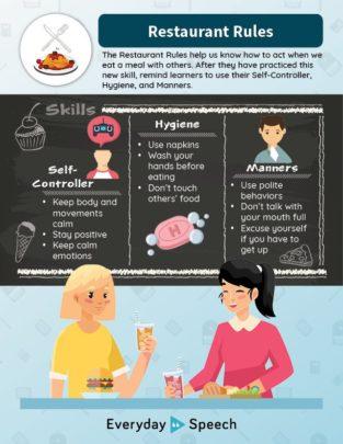 Restaurant Rules poster