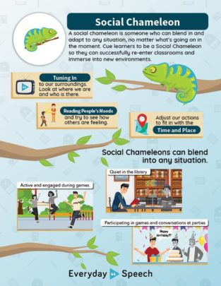 Being a Social Chameleon poster