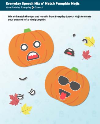 Halloween Mix n' Match Pumpkin Mojis