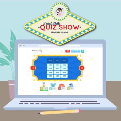 Remote Games Header - Social Skills Quiz Show Intro