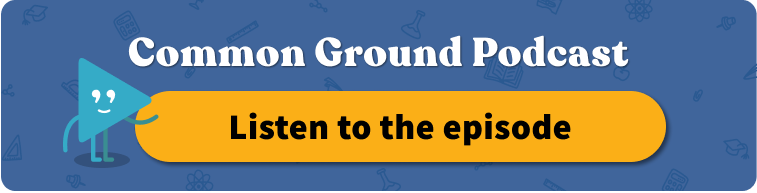 Common Ground podcast featuring Everyday Speech