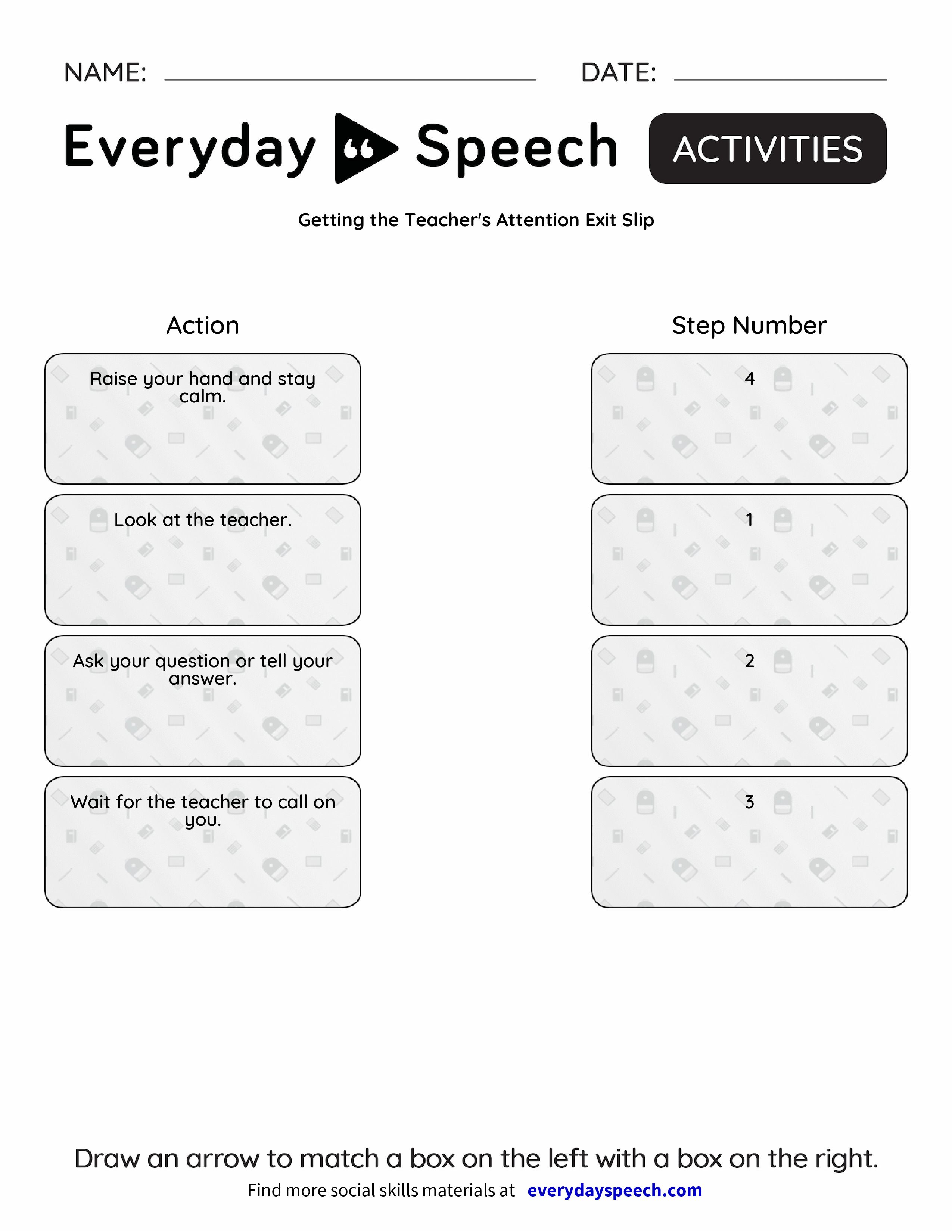 Gaining Someone's Attention - Everyday Speech - Everyday Speech