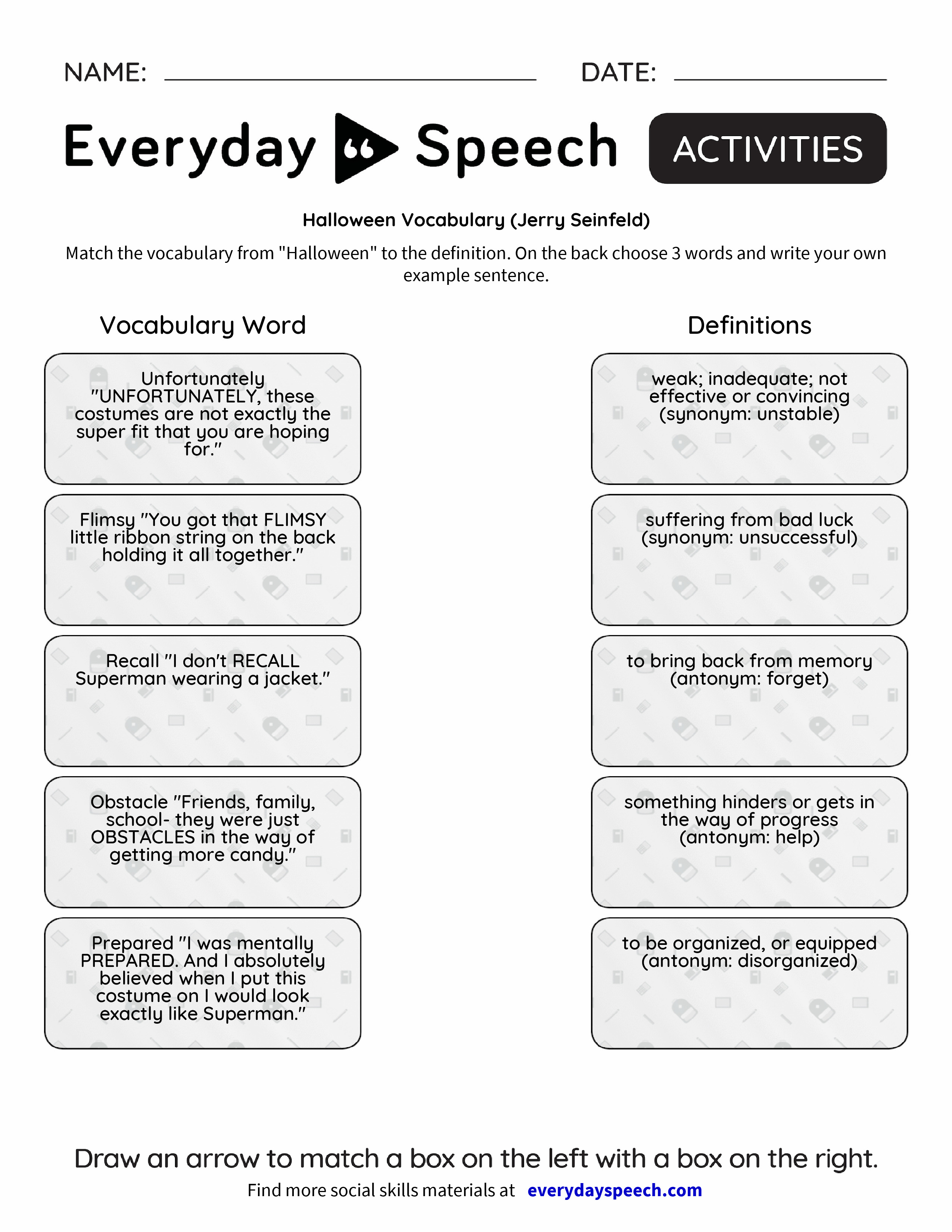 Everyday Speech