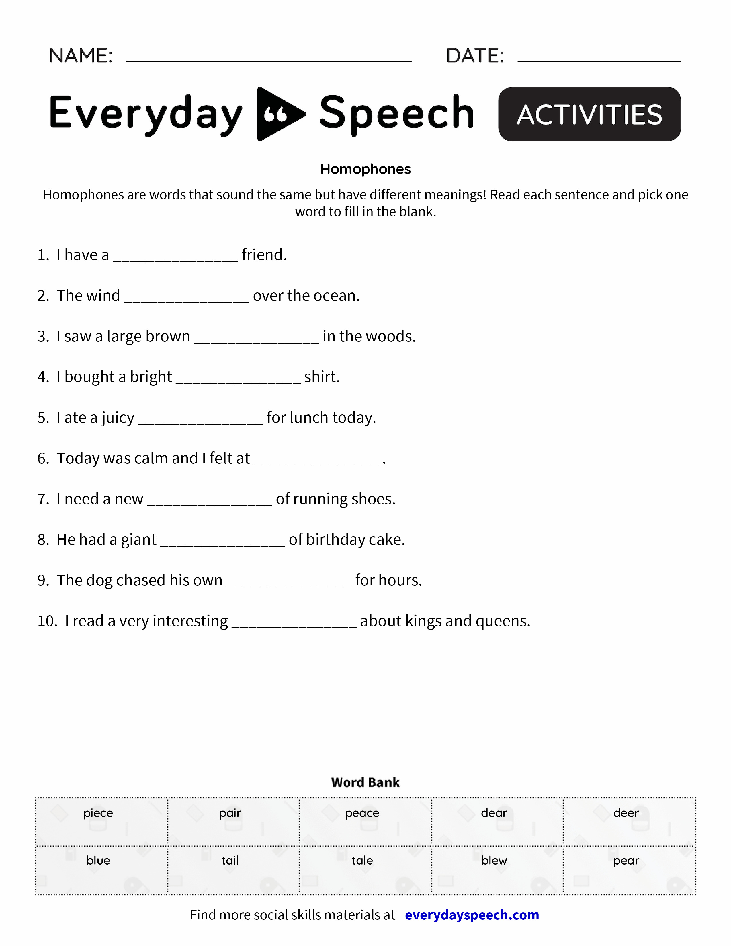 worksheet Homophones Worksheet Pdf Luizah Worksheet And Essay – Homophones Worksheet Pdf