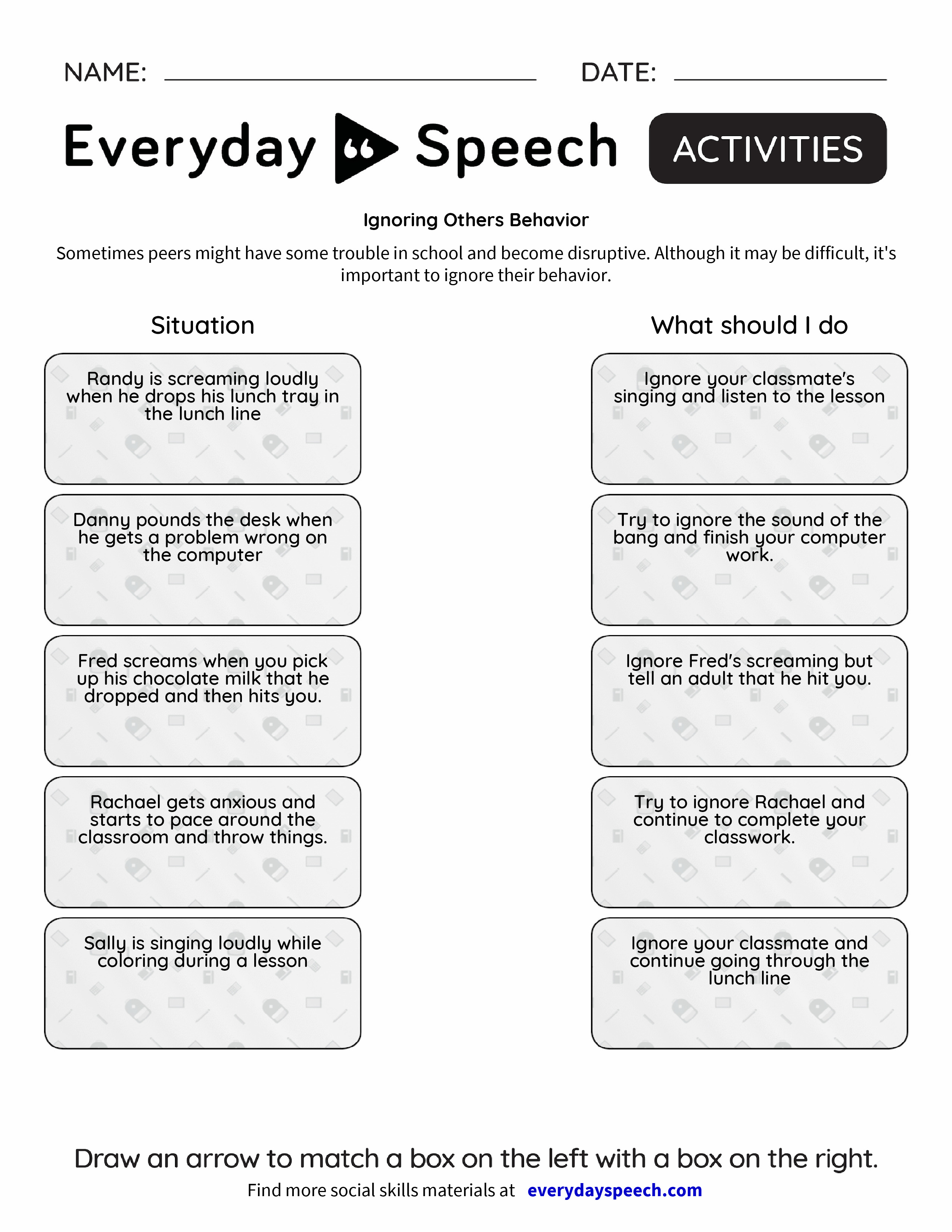 ignoring others behavior everyday speech everyday speech. Black Bedroom Furniture Sets. Home Design Ideas