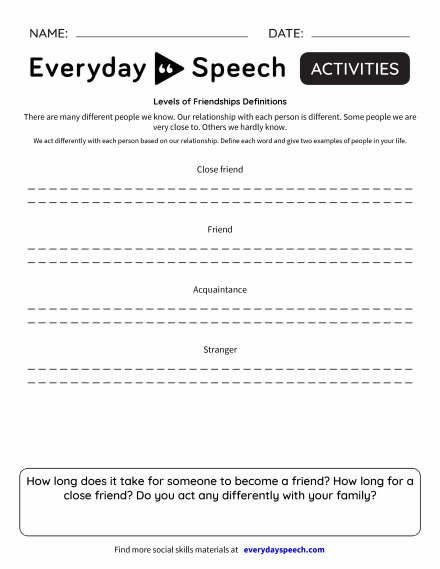 boundaries therapy worksheets] - 100 images - boundaries info ...