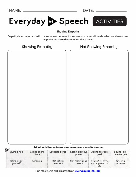 200 Most Downloaded Worksheets Everyday Speech