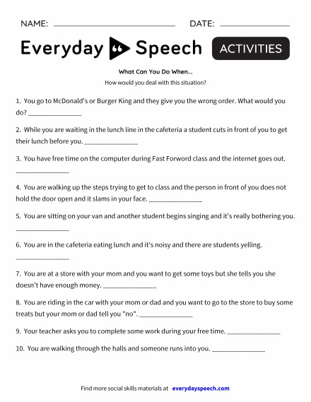 Math 6 Worksheets Worksheets  Everyday Speech  Everyday Speech Addition Worksheets Printable Pdf with Diameter And Radius Worksheets Pdf What Can You Do When Elements Of Short Story Worksheet Pdf